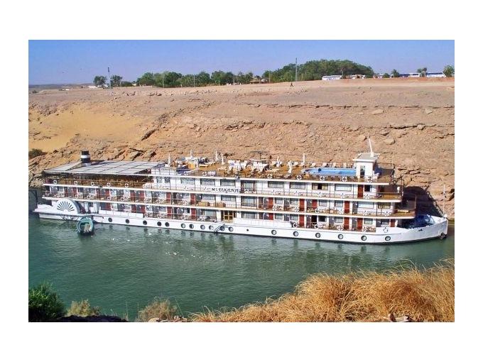 Egypt-Lodí po Nilu s pobytem u moře