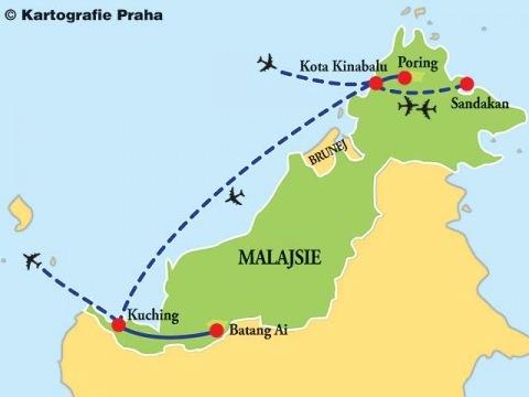 Borneo - Sabah - Sarawak