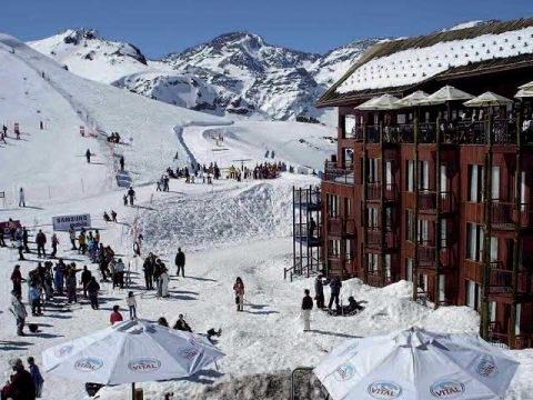 Lyžování v Chile-Hotel Tres Puntas