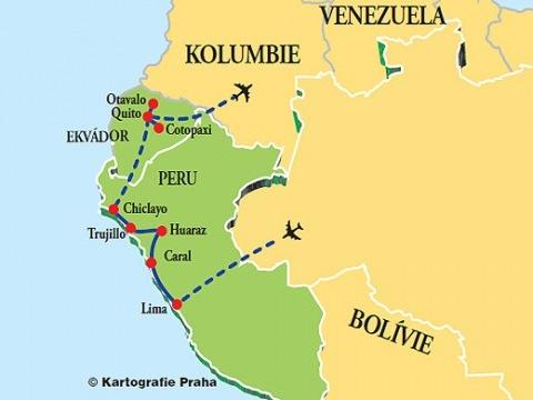 Peru - Ekvádor ( ve stínu Huascaránu)