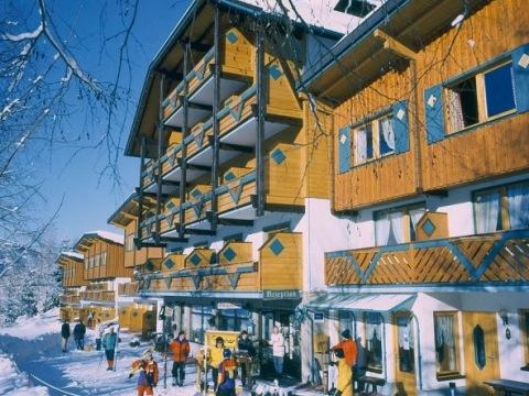 Aparthotel Ferienalm - pokoje