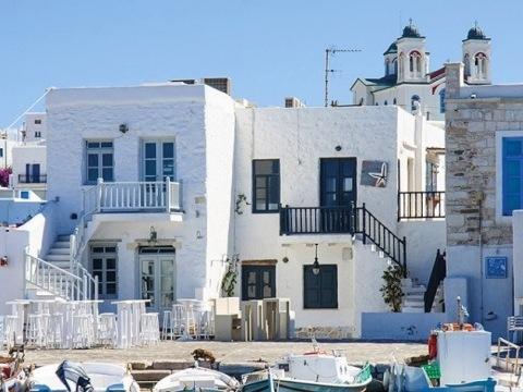 Kombinace ostrovů Santorini Paros Naxos 3 hotely