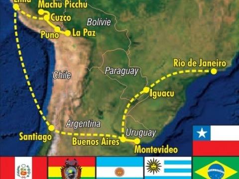 Velký okruh Latinskou Amerikou