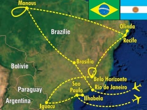 Brazílií křížem krážem