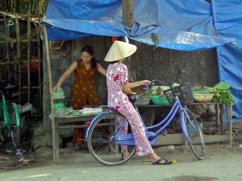 Podél vietnamského pobřeží s kolem