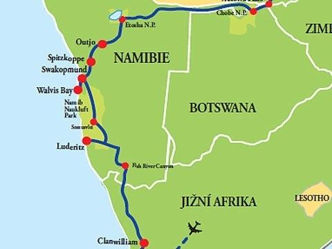 Z Kapského Města do Victoria Falls