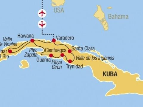 Kuba - ostrov žhavý jako sopka