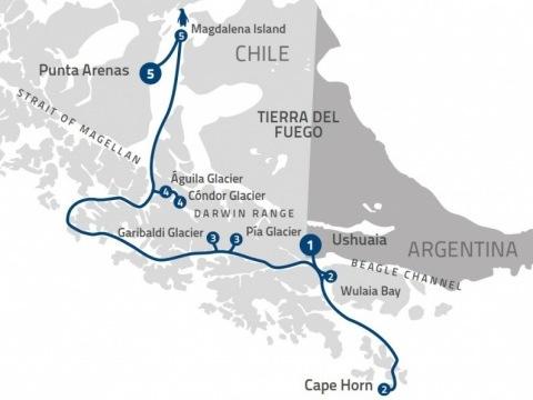Patagonian Explorer na lodi Ventus Australis