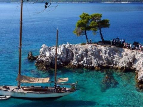 Kombinovaný zájezd Skopelos