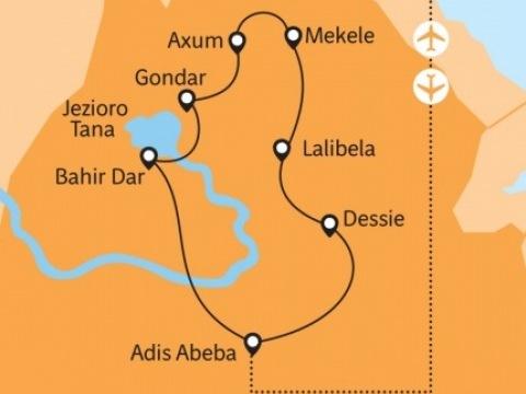 Etiopie - na stopě Archy úmluvy