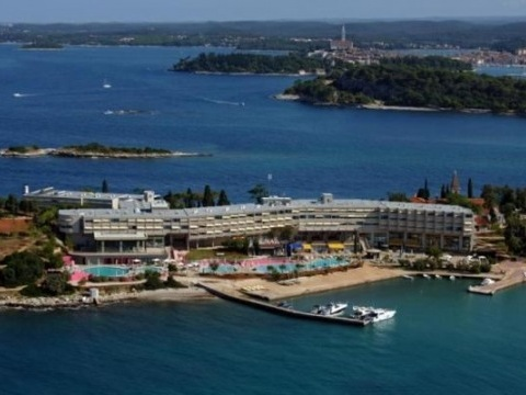 Ostrov Crveni Otok - Istra Island hotel