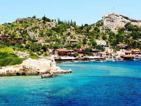 Modra Plavba Tureckou Rivierou
