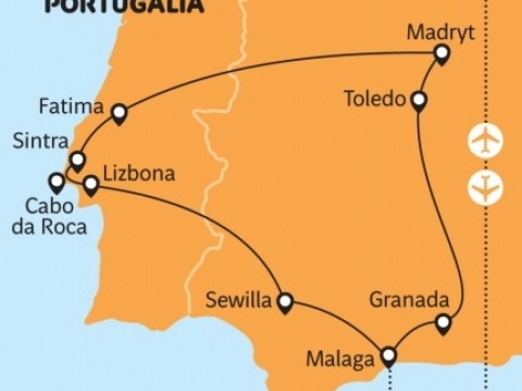 Španělsko a Portugalsko