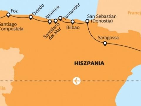Španělsko - podél Biskajského zálivu