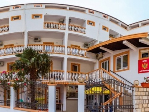 Montenegro hotel Čanj