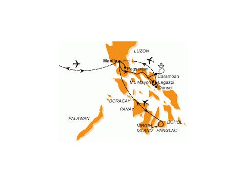 Filipíny - Na Robinsonův Ostrov, Za Nártouny a Žraloky Velrybími
