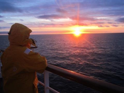 Za jižní polární kruh na lodi Ocean Diamond