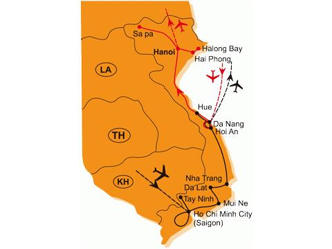 To Nejlepší Z Jižního a Středního Vietnamu