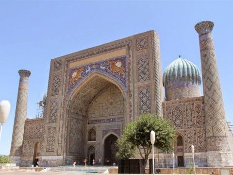 Uzbekistán - Velký Okruh