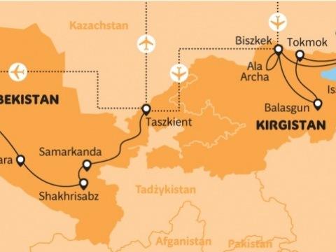 Uzbekistán a Kyrgyzstán