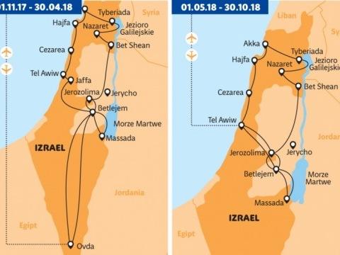 Izrael nejen pro poutníky