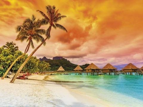 Tahiti, Bora Bora, Moorea