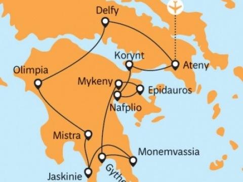 Dovolená po padesátce - Starověké Řecko