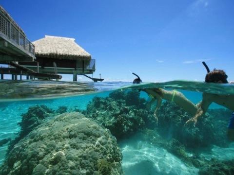Moorea - Tahiti-Hilton Moorea Lagoon Resort, Moorea