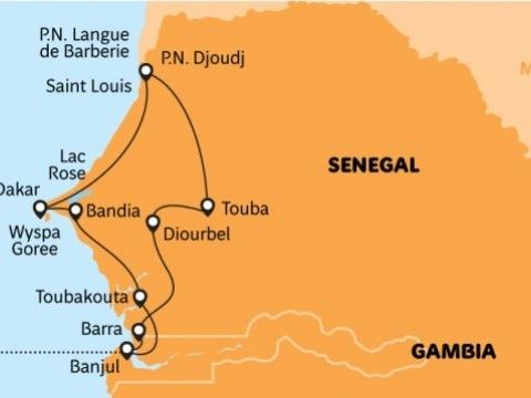 Přes duny Dakaru