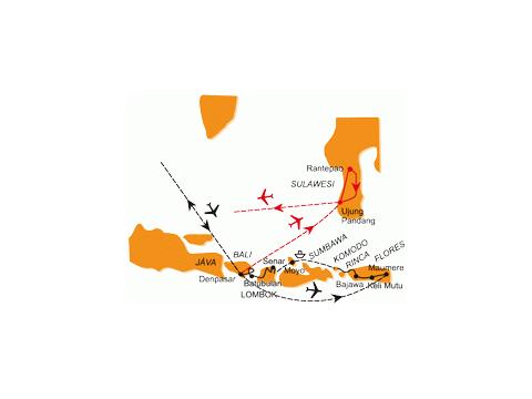 Malé I Velké Sundy - Po Ostrovech Indonésie - Prodloužení Zájezdu O Jižní Sulawesi