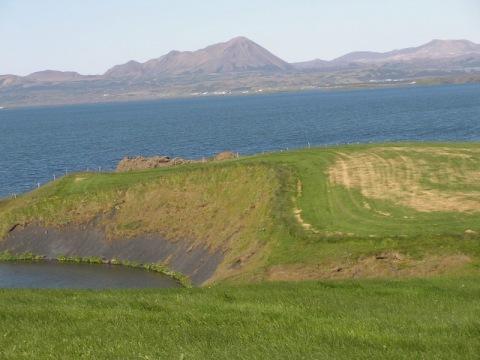 Island - velký okruh zemí ohně a ledu - letecky