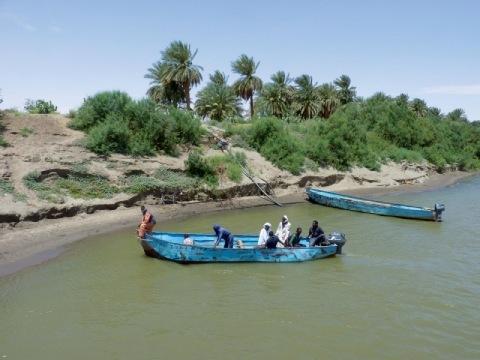Velký okruh severním Súdánem