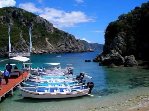 Korfu a Albánie - letecky