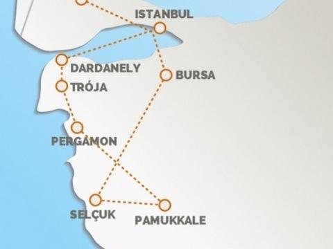 Turecko, Antické Památky Orientu1