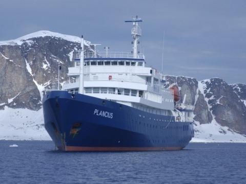 Zatmění slunce na lodi Plancius