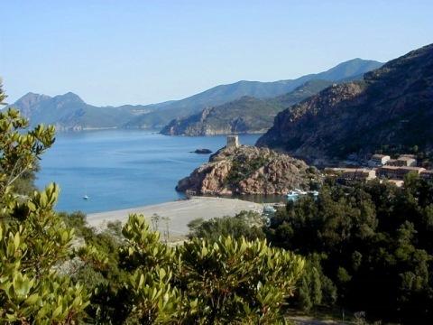 Divoká krása Korsiky (letecky)