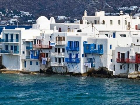 Plavba po Egejském moři - bílo modré Kyklady
