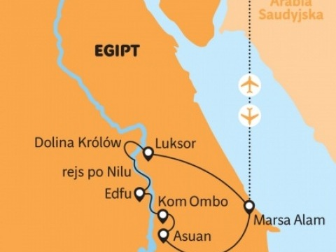Egypt - síla jihu z Marsa Alam