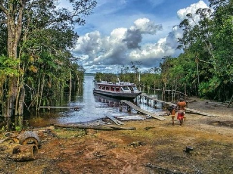 Hluboký nádech světa - Amazonie